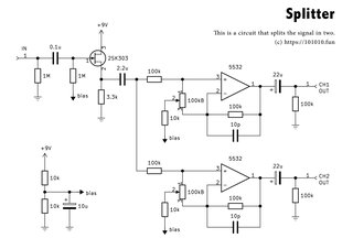 Splitter Schematic